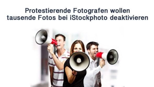 Protestierende Fotografen wollen tausende Fotos bei iStockphoto deaktivieren