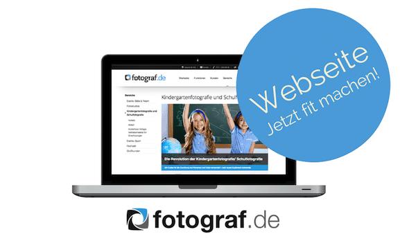 Fotografen Webseite Fit